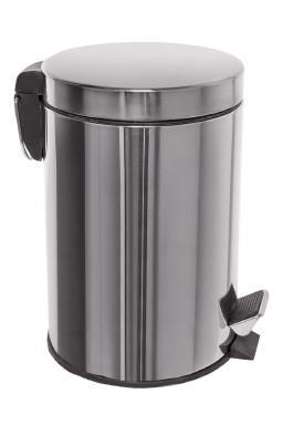 Waste disposal pedal bin – stainless steel – 20 lit.