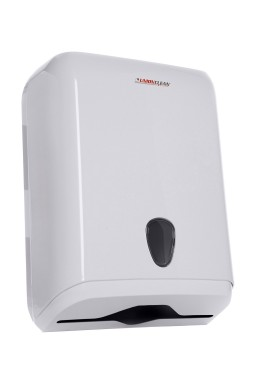 Paper towel dispenser - ABS white 800