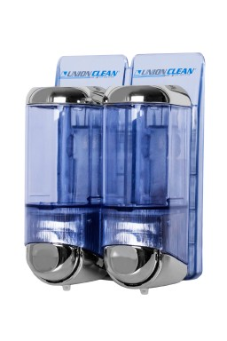 Soap dispenser - ABS CHROME DUO 2 x 0.17 lit.