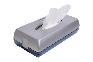 Dispenzer za papirne maramice abs mat hrom
