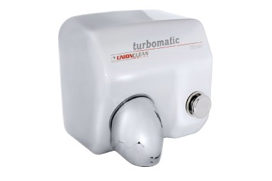 Hand Dryer - turbomatic white enamel timer