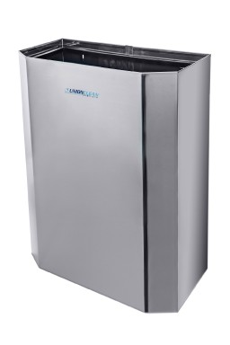Waste disposal bin stainless steel - 30 lit.