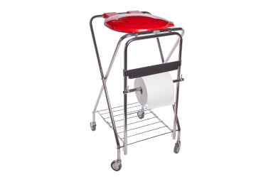 Trolley for the maintenance of hygiene