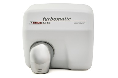 Hand Dryer - turbomatic white enamel sensor