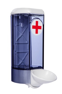 Medicinski dozator 0.8 lit. ABS BELO TRANSPARENT